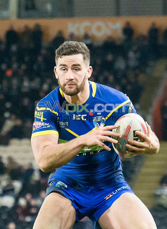 Picture by Allan McKenzie/SWpix.com - 02/03/2018 - Rugby League - Betfred Super League - Hull FC v Warrington Wolves - KC Stadium, Kingston upon Hull, England - Toby King.
