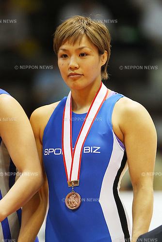 Seiko Nagashima, April 30, 2011 - Wrestling : All Japan Invitational Wrestling Championship, Women's Free Style -63kg at Yoyogi 2nd Gymnasium, Tokyo, Japan. (Photo by Daiju Kitamura/AFLO SPORT) [1045]