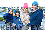The O'Sullivan family from Ballyheigue enjoying the Ballyheigue Races on Wednesday last, l to r, Kalen, Jamie, Emma and with their dad Kevin.