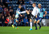 Cauley Woodrow of Fulham during the Carabao Cup match between Wycombe Wanderers and Fulham at Adams Park, High Wycombe, England on 8 August 2017. Photo by Alan  Stanford / PRiME Media Images.