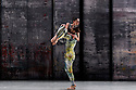 London, UK. 07.11.2019. Rambert presents RAMBERT EVENT, by Merce Cunningham, at Sadler's Wells. Choreography by Merce Cunningham, staging by Jeannie Steele, Music by Philip Selway, Quinta and Adem Ilhan, designs inspired by Gerhard Richter's 'Cage' series, performed by Rambert. The dancers are: Brenda Lee Grech, Guillaume Queau. Photograph © Jane Hobson.