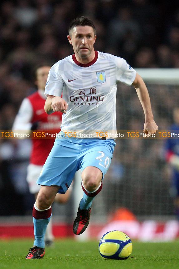 Robbie Keane of Aston Villa -  Arsenal vs Aston Villa - at the Emirates Stadium - 29/01/12 - MANDATORY CREDIT: Dave Simpson/TGSPHOTO - Self billing applies where appropriate - 0845 094 6026 - contact@tgsphoto.co.uk - NO UNPAID USE.