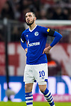 09.02.2019, Allianz Arena, Muenchen, GER, 1.FBL,  FC Bayern Muenchen vs. FC Schalke 04, DFL regulations prohibit any use of photographs as image sequences and/or quasi-video, im Bild Nabil Bentaleb (Schalke #10) enttaeuscht<br /> <br />  Foto &copy; nordphoto / Straubmeier