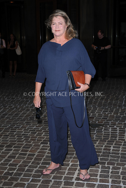 WWW.ACEPIXS.COM . . . . . .July 13, 2011...New York City....Kathleen Turner attends the screening of 'Snow Flower And The Secret Fan' at the Tribeca Grand Hotel on July 13, 2011 in New York City....Please byline: KRISTIN CALLAHAN - ACEPIXS.COM.. . . . . . ..Ace Pictures, Inc: ..tel: (212) 243 8787 or (646) 769 0430..e-mail: info@acepixs.com..web: http://www.acepixs.com .