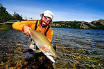PATAGONIA, TRES VALLES, SANTIAGO IS THE ANGLER