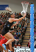 10th September 2017, PG Arena, Napier, New Zealand; Taini Jamison Netball Trophy, New Zealand versus England;  New Zealands Te Paea Selby-Rickit