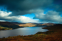 Loch Katrine from the Aqueduct Path near Stronachlachar, Loch Lomond and the Trossachs National Park, Stirlingshire