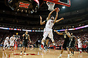 February 23, 2014: Terran Petteway (5) of the Nebraska Cornhuskers grabs the rebound to put it back up for two during the second half against the Purdue Boilermakers at the Pinnacle Bank Arena, Lincoln, NE. Nebraska 76 Purdue 57.