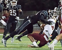 JSerra Catholic High School vs. Bishop Montgomery High School football action