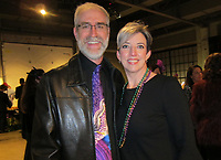 NWA Democrat-Gazette/CARIN SCHOPPMEYER Kenton and Jennifer Ross help support Trike Theatre.