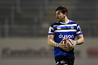 James Hadfield of Bath United looks on. Premiership Rugby Shield match, between Bath United and Gloucester United on April 8, 2019 at the Recreation Ground in Bath, England. Photo by: Patrick Khachfe / Onside Images