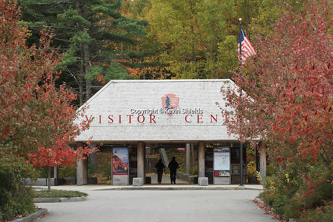 Visitors Center, Acadia National Park, Maine, USA