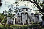 Zanzibar, Tanzania. The Zanzibar National Museum (Peace Memorial).