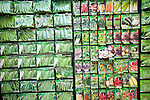 Display vegetable seed packets