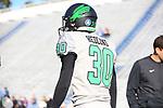 DENTON, TX - NOVEMBER 10: University North Texas Mean Green Football v. Old Dominion,Monarchs. at S.B Ballard Stadium in Norfolk on November 10, 2018 in Norfolk, Virginia. Photo: Rick Yeatts