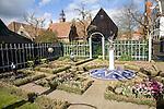Zaandijk garden, Zuiderzee museum, Enkhuizen, Netherlands