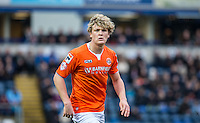 Cameron McGeehan of Luton Town during the Sky Bet League 2 match between Wycombe Wanderers and Luton Town at Adams Park, High Wycombe, England on 6 February 2016. Photo by Andy Rowland.