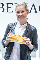Soraya Arnelas attends to Nomad Shoes at Ifema in Madrid, Spain September 22, 2017. (ALTERPHOTOS/Borja B.Hojas)
