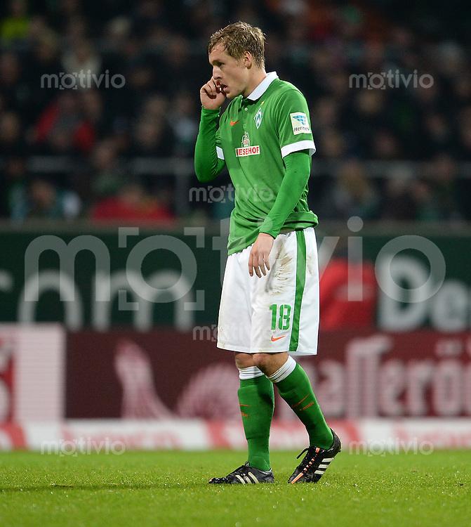 FUSSBALL   1. BUNDESLIGA   SAISON 2014/2015   15. SPIELTAG SV Werder Bremen - Hannover 96                         13.12.2014 Felix Kroos (SV Werder Bremen)