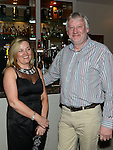 Michael and Valerie Mooney pictured at the Combines for Charity party in City North hotel. Photo:Colin Bell/pressphotos.ie