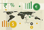 Illustrative image of currency exchange business