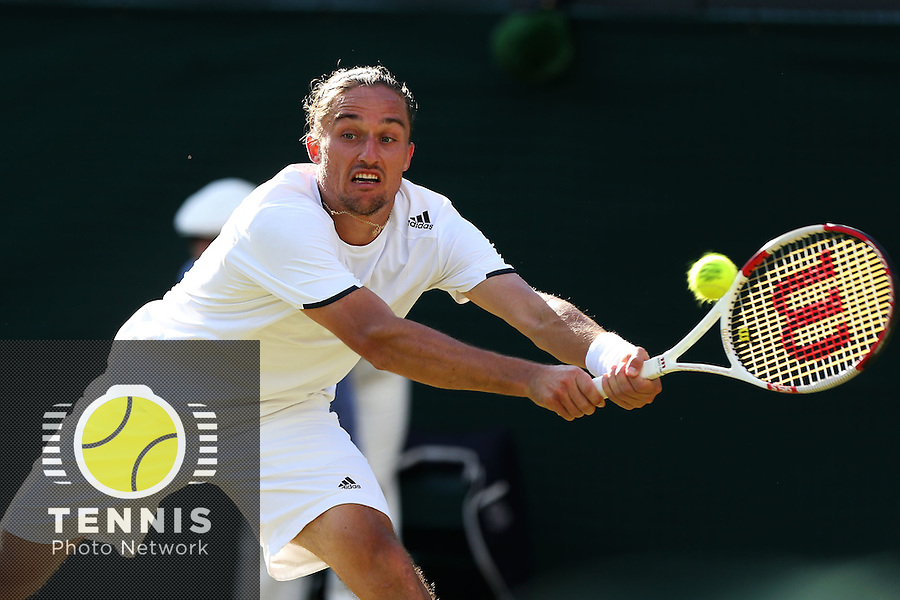 The Championships Wimbledon 2014 - The All England Lawn Tennis Club -  London - UK -  ATP - ITF - WTA-2014  - Grand Slam - Great Britain -  27th.June 2014. <br /> ALEXANDR DOLGOPOLOV (UKR)<br /> <br /> © J.Hasenkopf / Tennis Photo Network