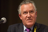 Peter Hain MP, Secretary of State for Northern Ireland,  speaks at a Fabian Society hustings meeting for candidates for the deputy leadership of the Labour Party.
