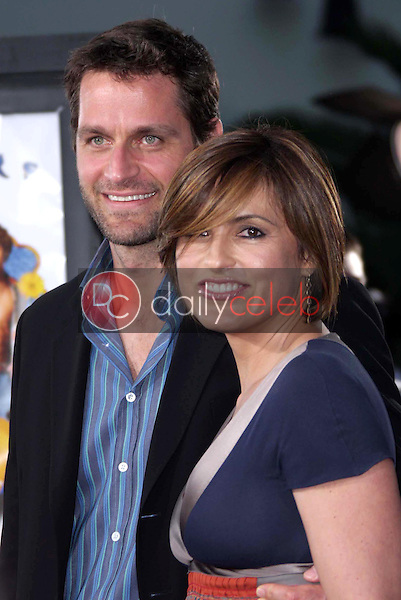 """Peter Hermann and Mariska Hargitay<br />at the Los Angeles Premiere of """"The Love Guru"""". Grauman's Chinese Theatre, Hollywood, CA. 06-11-08<br />Dave Edwards/DailyCeleb.com 818-249-4998"""