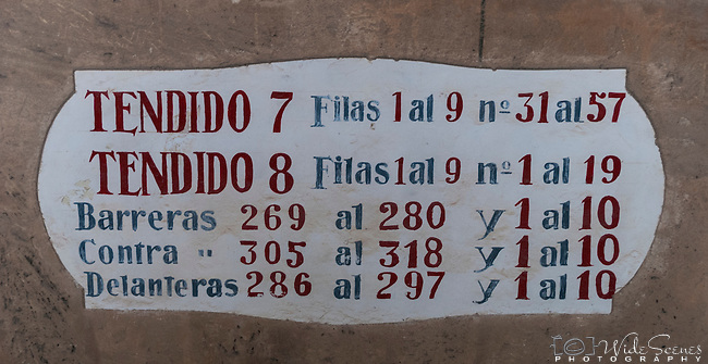 Barrio Gotico Bullring (Plaza de Toros) in Palma de Mallorca, Balearic Islands, Spain