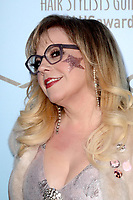 LOS ANGELES - FEB 24:  Kirsten Vangsness at the 2018 Make-Up Artists and Hair Stylists Awards at the Novo Theater on February 24, 2018 in Los Angeles, CA