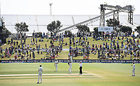 24th November 2019; Mt Maunganui, New Zealand;  BJ Watling gets a standing ovation during play on day 4 of the 1st international cricket test match, New Zealand versus England at Bay Oval, Mt Maunganui, New Zealand.  - Editorial Use