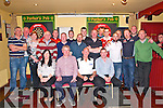 Darts legend John Lowe, UK. pictured with locals at Parkers Bar, Kilflynn on Saturday night last.
