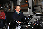 Rubin McGuiggan.at the open day in Clogherhead lifeboat station..Picture: Fran Caffrey / www.newsfile.ie ..