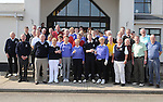 Members pictured at the captain's drive in at ardee golf club. Photo: Colin Bell/pressphotos.ie