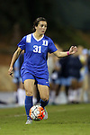 16 October 2015: Duke's Christina Gibbons. The University of North Carolina Tar Heels hosted the Duke University Blue Devils at Fetzer Field in Chapel Hill, NC in a 2015 NCAA Division I Women's Soccer game. Duke won the game 1-0.