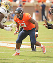 Virginia Cavaliers Daquan Romero (13) during a game against the UCLA Bruins on August 30, 2014 at Scott Stadium in Charlottesville, VA. UCLA beat Virginia 28-20.
