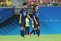 (L to R) <br /> Takumi Minamino, <br /> Sei Muroya (JPN), <br /> AUGUST 4, 2016 - Football / Soccer : <br /> Men's First Round Group B <br /> between Nigeria 5-4 Japan <br /> at Amazonia Arena <br /> during the Rio 2016 Olympic Games in Manaus, Brazil. <br /> (Photo by YUTAKA/AFLO SPORT)