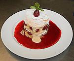 Dessert, The Forge Restaurant, North Beach, Miami, Florida
