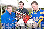 HOLD FOR MORE FOR CAPTION - OWEN.DRAW: Members of MaineBank FC in Castlemaine who are holding a fundraising draw for new pitch facilities, l-r: ....