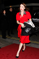 LONDON, ENGLAND - FEBRUARY 09 :  Keeley Hawes arrives at the Charles Finch and Chanel pre-BAFTA party at Loulou's on February 09, 2019 in London, England.<br /> CAP/AH<br /> &copy;Adam Houghton/Capital Pictures