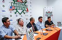 Rueda de prensa de la Fiesta Mexicana del Beisbol 2018 (Foto:  Luis Gutierrez/ NortePhoto.com)