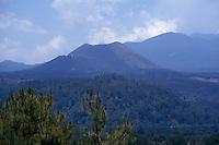 The cone of Volcan Paricutin, Michoacan, Mexico