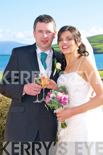 Eibhli?n, daughter of Eibhli?n and the late Paudie O Conchu?ir, Baile an Chnoca?in, Baile na nGall, and Tom, son of Peter and Mary Curran, Annascaul, who were married on Saturday in Sei?pe?al na Carraige. Fr Gearo?id Godley officiated at the ceremony. Best man was John Curran and John Pat Brosnan. Bridesmaids were Ma?ire Furlong and A?ine Greaney. Flowergirls were Eimear Greaney and Ciara Furlong. The reception was held in O?sta?n na Sceilige, Dingle, and the couple will reside in Tralee.
