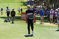 Brett Rumford (AUS) in action on the 1st during Round 3 of the ISPS Handa World Super 6 Perth at Lake Karrinyup Country Club on the Saturday 10th February 2018.<br /> Picture:  Thos Caffrey / www.golffile.ie<br /> <br /> All photo usage must carry mandatory copyright credit (&copy; Golffile   Thos Caffrey)