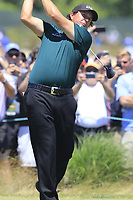 Phil Mickelson (USA) tees off the 8th tee during Saturday's Round 3 of the 118th U.S. Open Championship 2018, held at Shinnecock Hills Club, Southampton, New Jersey, USA. 16th June 2018.<br /> Picture: Eoin Clarke | Golffile<br /> <br /> <br /> All photos usage must carry mandatory copyright credit (&copy; Golffile | Eoin Clarke)
