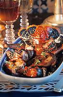 Europe/France/Bretagne/29/Finistère/Concarneau: Repas au chateau de Keriolet - Civet de homard au pigeon