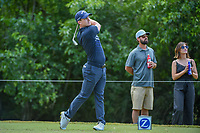 Chris Paisley (ENG) watches his tee shot on 14 during Round 3 of the Zurich Classic of New Orl, TPC Louisiana, Avondale, Louisiana, USA. 4/28/2018.<br /> Picture: Golffile | Ken Murray<br /> <br /> <br /> All photo usage must carry mandatory copyright credit (&copy; Golffile | Ken Murray)