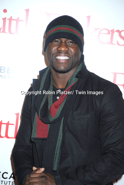 "actor Kevin Hart at the World Premiere of ""Little Fockers"",.benefiting the not-for-profit tribeca Film Institute on December 15, 2010 at The .Ziegfeld Theatre in New York City."