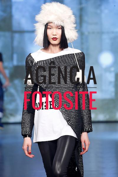 Milao, Italia &ndash; 02/2014 - Desfile de Imperfect durante a Semana de moda de Milao - Inverno 2014. <br /> Foto: FOTOSITE