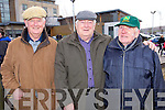Sean O'Connor, Paudie Fitzgerald and Eddie Lacey, at the Lacy Cup Cycle on Sunday morning.